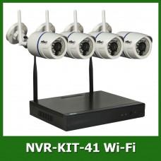 Комплект беспроводного видеонаблюдения Oltec NVR-KIT-41 Wi-Fi