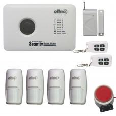 Комплект беспроводной сигнализации Oltec GSM-Kit-10 + 4