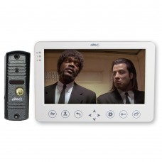 Комплект видеодомофон LC-72(W) с видеопанелью LC-305