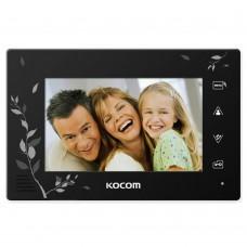 Видеодомофон Kocom KCV-A374SDLE Black