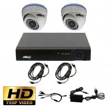 Комплект HD видеонаблюдения AHD-DUO-HD Dome