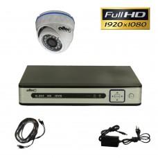 Комплект FullHD видеонаблюдения AHD-ONE-FullHD Dome