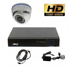Комплект HD видеонаблюдения AHD-ONE-HD Dome