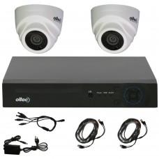 Комплект видеонаблюдения Oltec AHD-KIT-924P/2