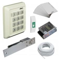 Комплект контроля доступа Oltec СКД-04 электромагнитный замок ригель EBD-100 (white)