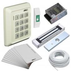 Комплект контроля доступа Oltec СКД-03 электромагнитный замок Elock-600 (white)