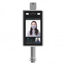 Камера контроля доступа c распознаванием лиц и индикатором температуры  IPB-VR-112