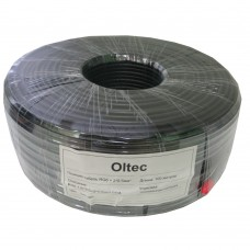 Кабель коаксиальный с питанием Oltec RG6+2x0,5 (100 метров)