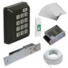 Комплект контроля доступа Oltec СКД-04 электромагнитный замок ригель EBD-100 (black)