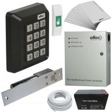 Комплект контроля доступа Oltec СКД-05 электромагнитный замок ригель EBD-100 (black)