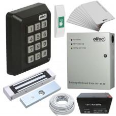 Комплект контроля доступа Oltec СКД-06 электромагнитный замок Elock-600 (black)