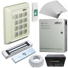 Комплект контроля доступа Oltec СКД-06 электромагнитный замок Elock-600 (white)