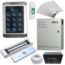 Комплект контроля доступа Oltec СКД-07 электромагнитный замок Elock-600 (black)