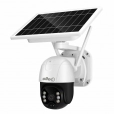 Беспроводная  поворотная WiFi IP камера видеонаблюдения c солнечной батареей Oltec IPC-322SW