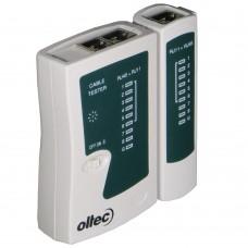 Кабельный тестер витой пары Oltec T-800