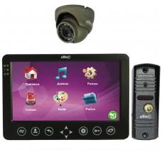 Комплект домофона Oltec LC-72(B) с видеопанелью LC-305 и видеокамерой HDA-912D