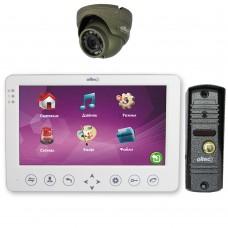 Комплект домофона Oltec LC-72(W) с видеопанелью LC-305 и видеокамерой HDA-912D